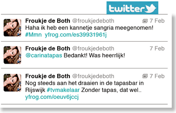 tweets Froukje de Both