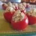 tomates rellenos de queso y pesto