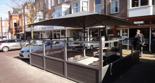 Ons zomerse terras